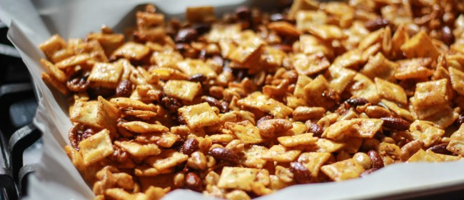 Tex-Mex Snack Mix: Football Food!