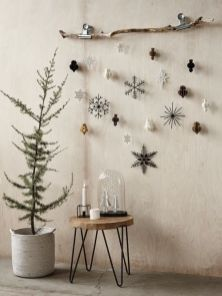 Meer rust met kerst en aarde tinten