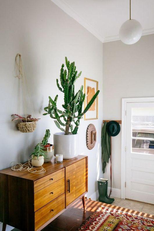 Retro met planten