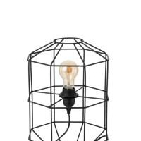 tafellamp oman open metaal zwart