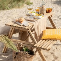 zomertrend picknicktafel bamboe naturel
