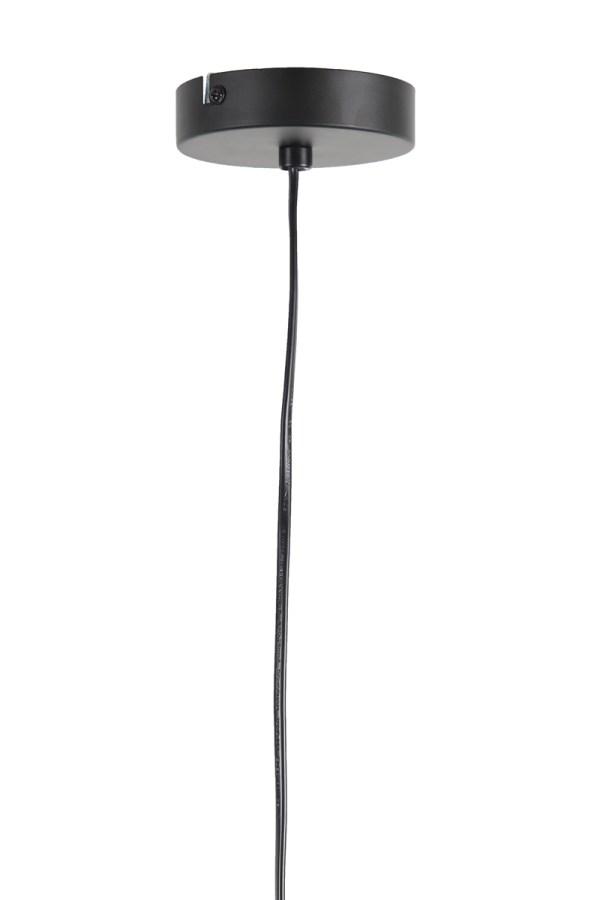 Hanglamp Puerto large rond rotan hout naturel