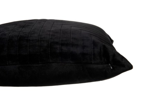 Kussen Vierkant Fluweel Zwart
