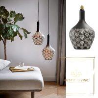 Calex Versailles Noir Baroque led lamp 5W 30lm 1800K Dimbaar