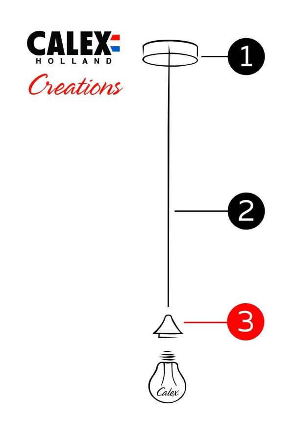 stel je eigen lamp samen Stap 3 de fittingen