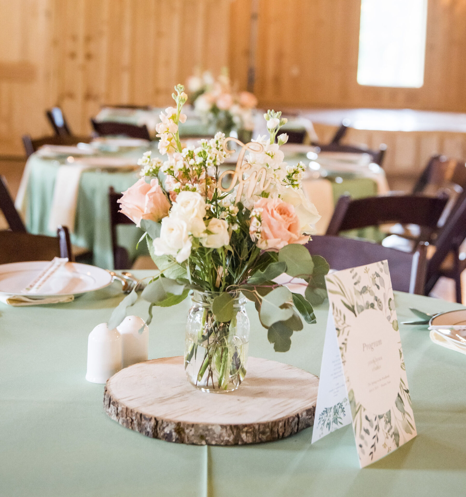 "6 Wood Slices 8"" to 10"" Log Centerpieces"