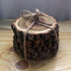 black locust coasters