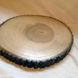 decorative wood slice