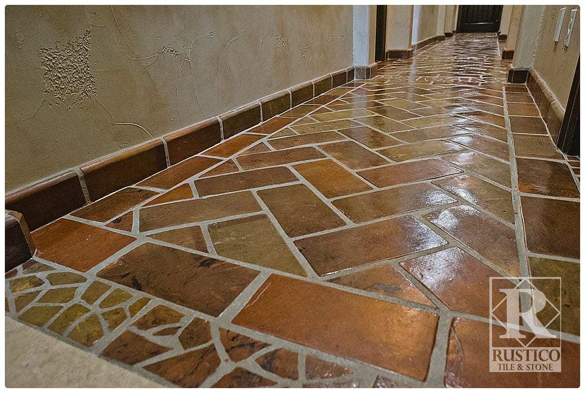 rectangle saltillo terracotta tile