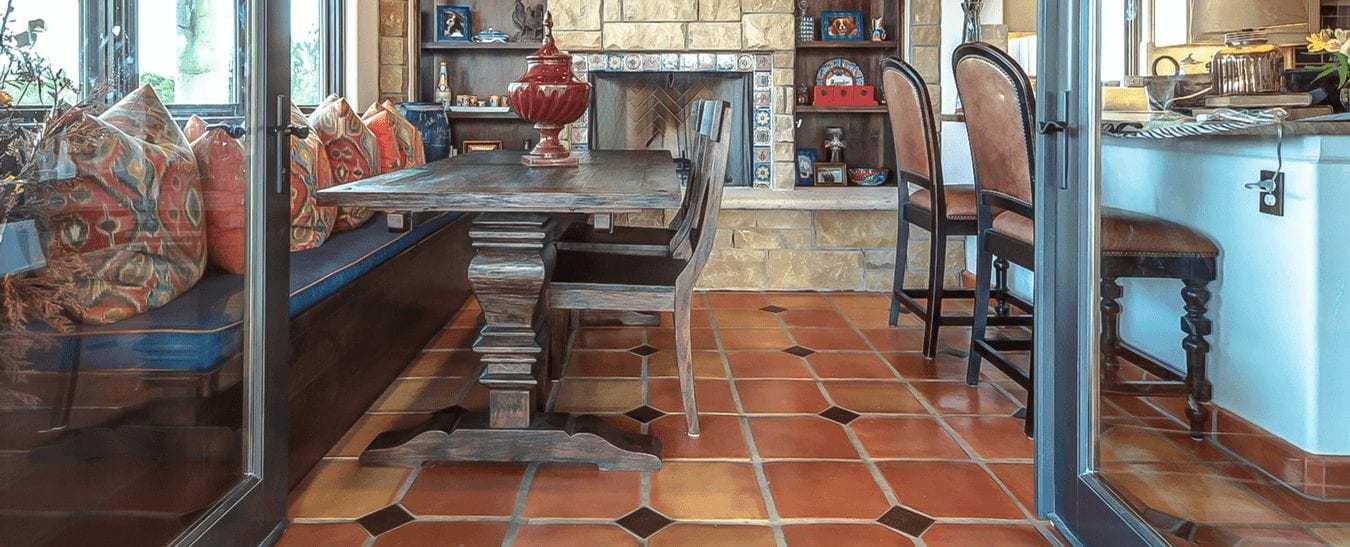 mexican saltillo terracotta tile