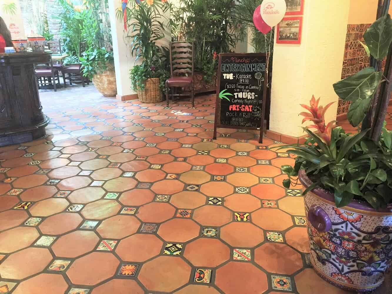 octagon saltillo tile 12x12 terracotta floor tile mexican pavers