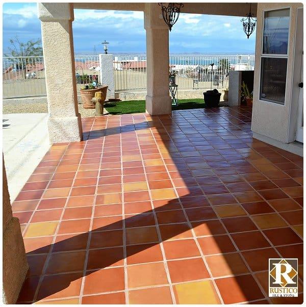 12x12 mexican saltillo tile
