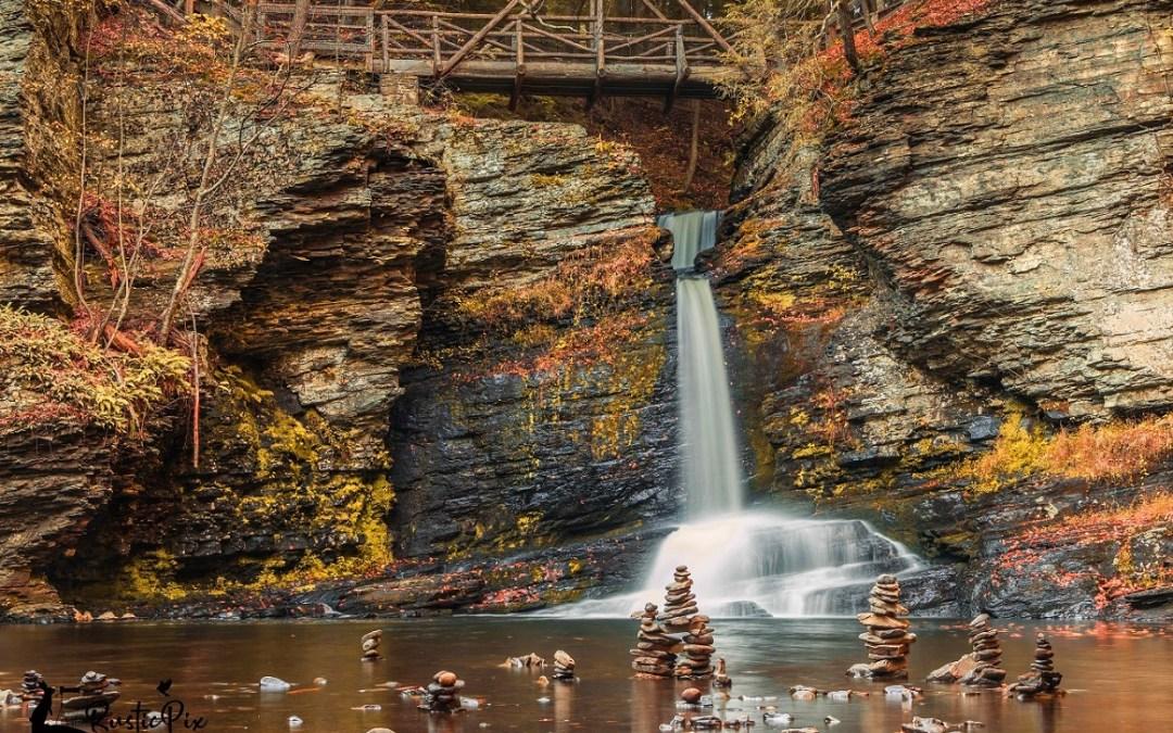 Fall Waterfall Photography