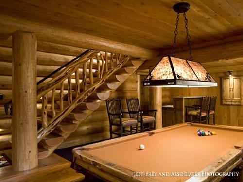 Log Staircases Ryan S Rustic Railings Furniture In Orr Mn   Rustic Stairs And Railings   Handrail   Custom   Design   Cabin   Interior