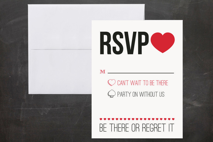 Unique Rsvp Cards