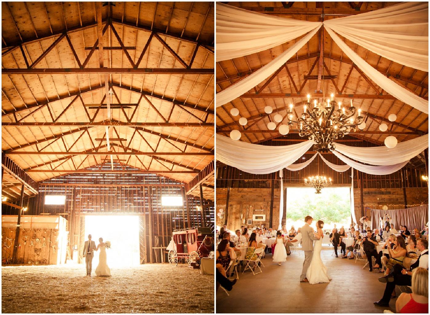 Northern California Barn Wedding