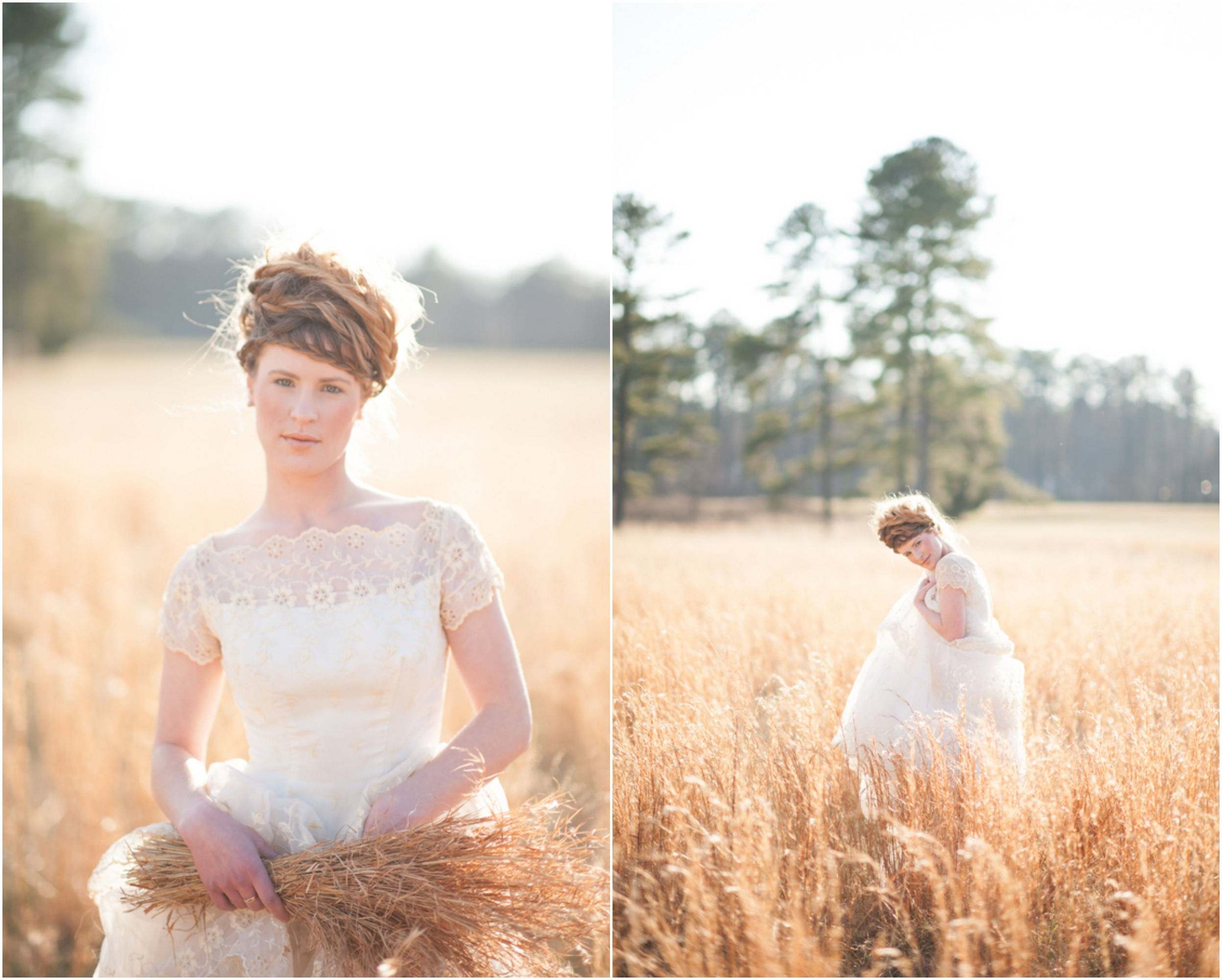 Country Wheat Field Wedding Inspiration
