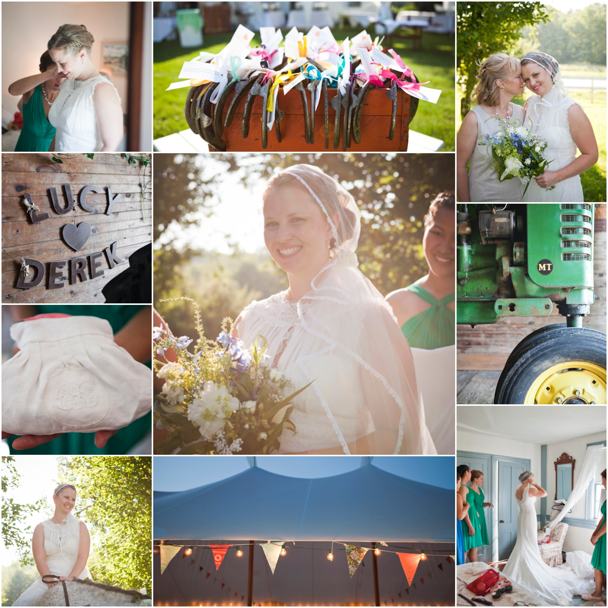 Maine Farm Wedding Lucy Derek Rustic Wedding Chic