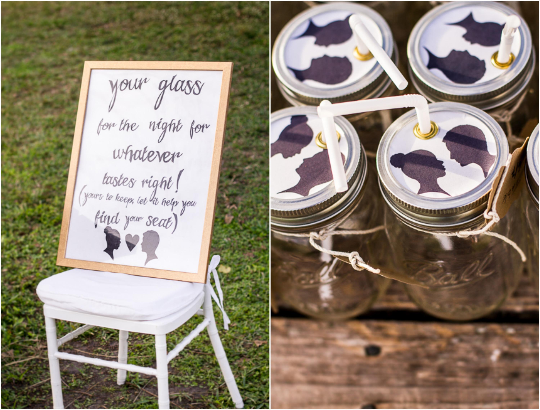 Custom Mason Jar Invitations