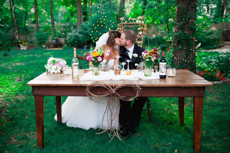 Fall Backyard Budget Wedding Rustic Wedding Chic