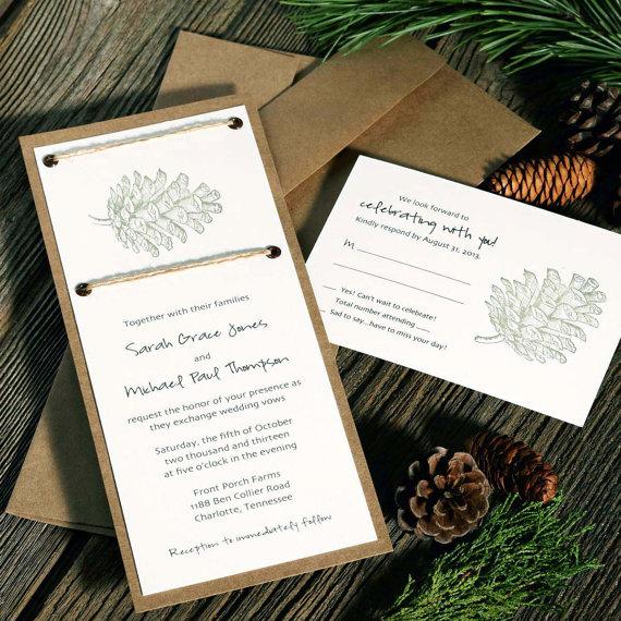 Brides Wedding Invitations