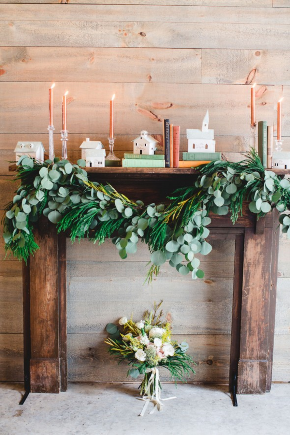 Winter Vintage Barn Wedding Inspiration Rustic Wedding Chic