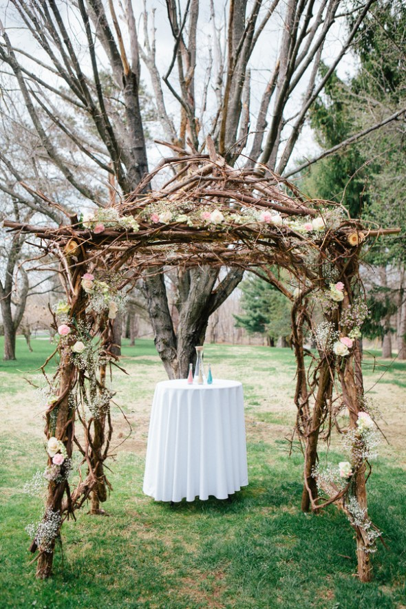 Outside Wedding Centerpieces