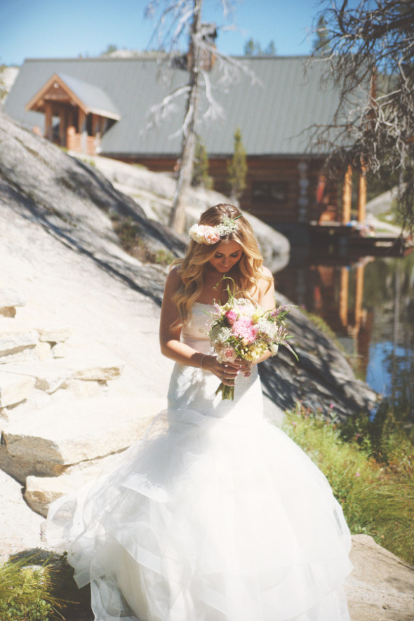 California Mountain Wedding Rustic Wedding Chic