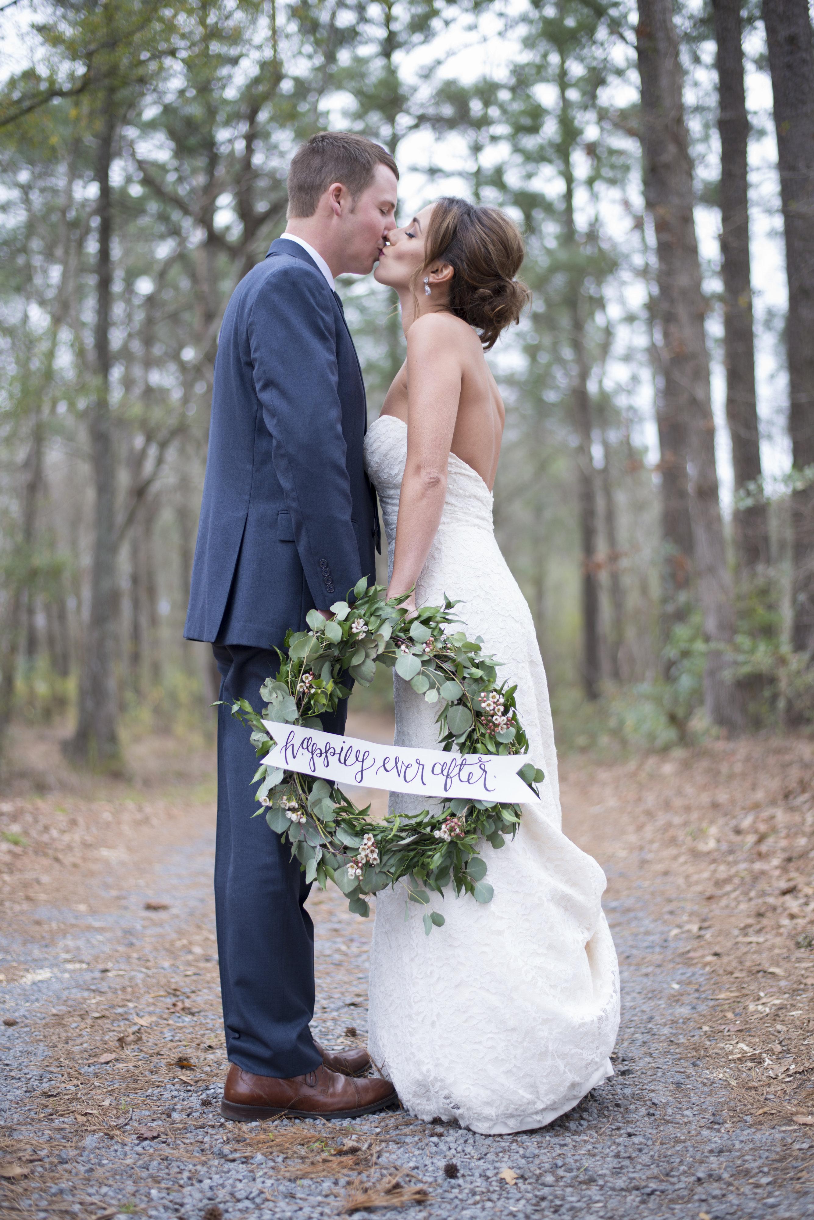 Southern Winter Wedding Inspiration Rustic Wedding Chic