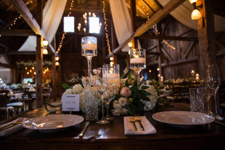 Elegant Fall Barn Wedding Rustic Wedding Chic
