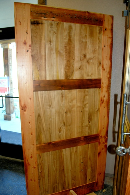 reclaimed with chestnut