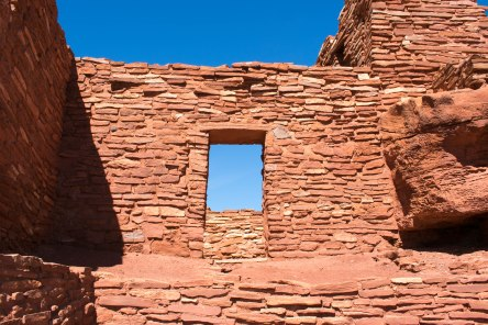 Wukoki Ruins Wall Dorway