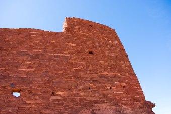 Wukoki Ruins. Hiking Flagstaff, Arizona