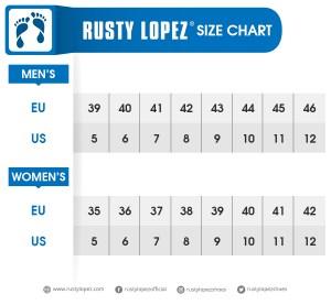 Rusty Lopez Size Chart