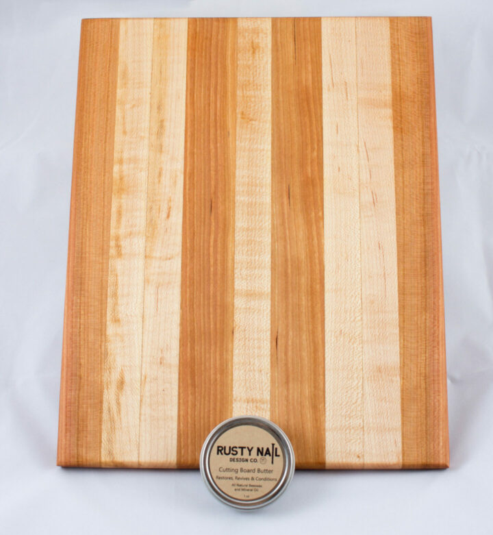 Cherry and Maple Cutting Board