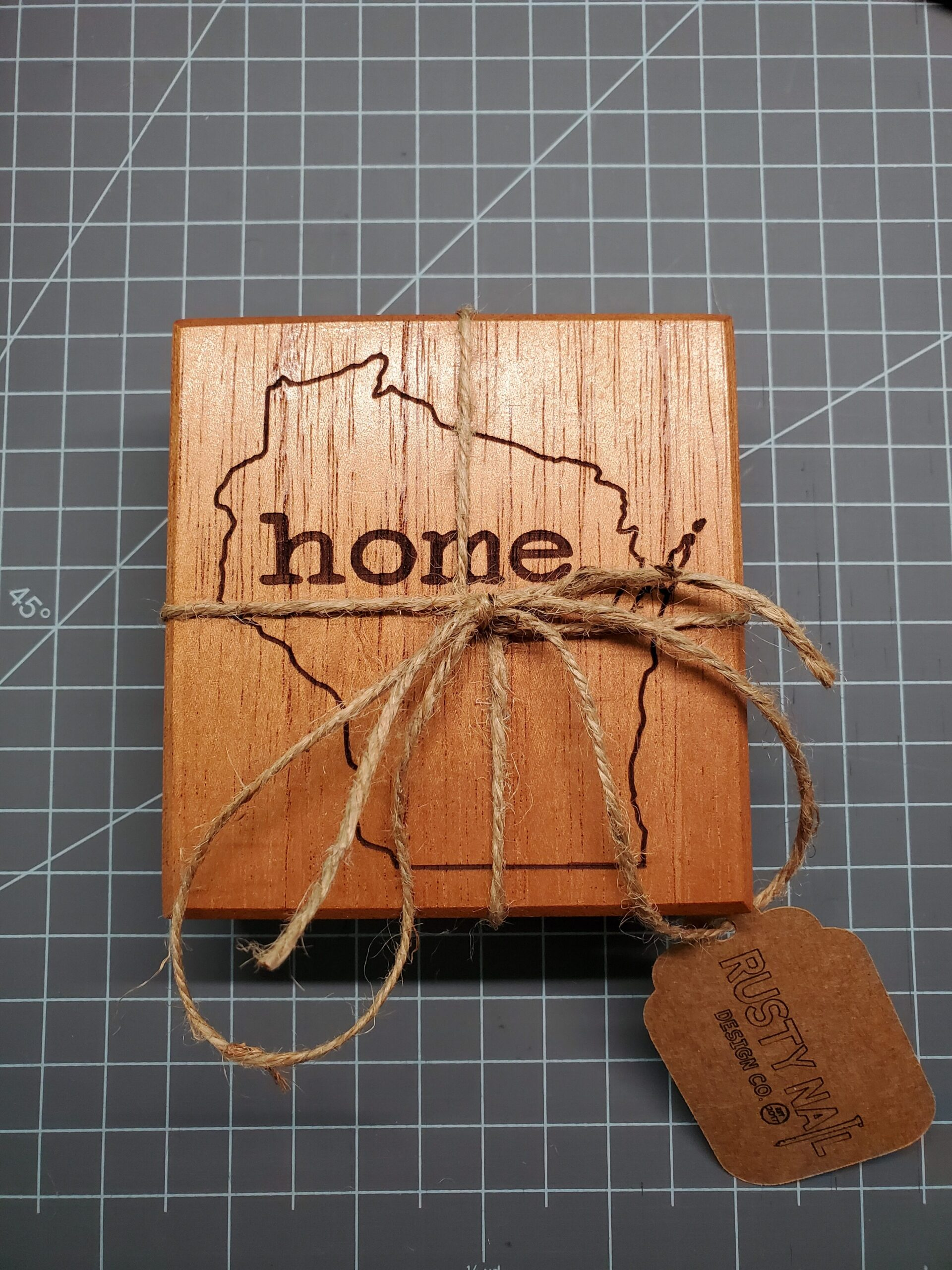 Wisconsin Home Coasters