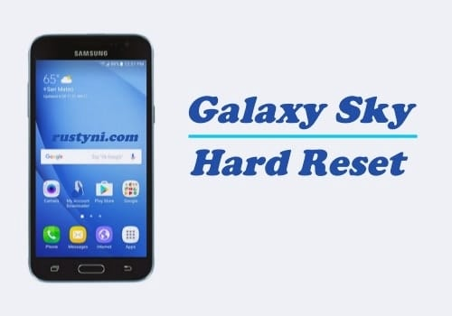 How to Perform Hard Reset on Samsung Galaxy Sky