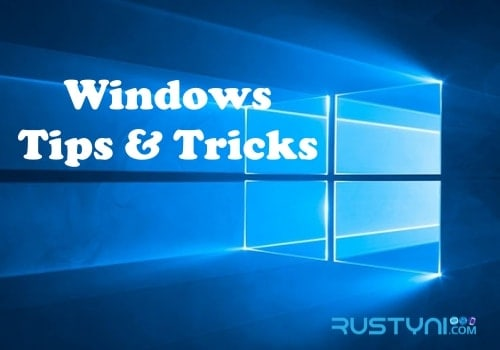 windows tips and trikcs