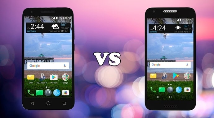 alcatel raven vs alcatel zip comparison