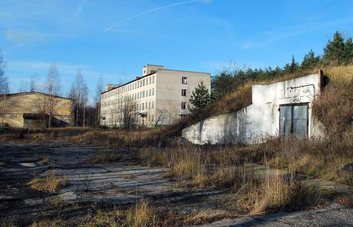 Another abandoned military base