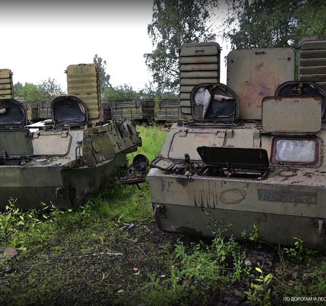 Abandoned Soviet Military Vehicles Graveyard