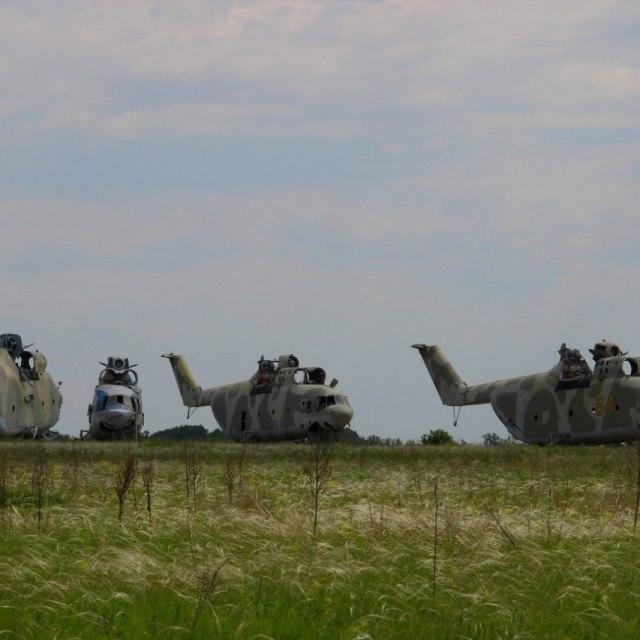 Abandoned Soviet Military Base