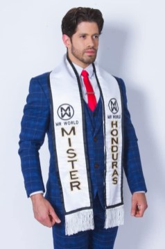 Darío Paredes es Mr World Honduras