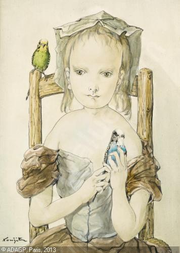 foujita-tsuguharu-leonard-1886-fillette-aux-perruches-3957354-500-500-3957354