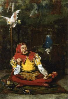William Merritt Chase - the-king-s-jester