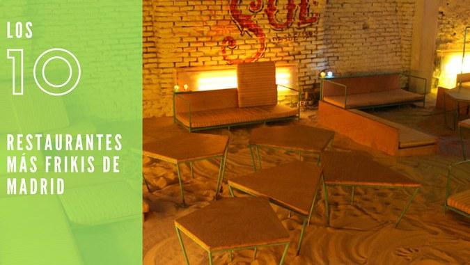 Restaurantes frikis de Madrid