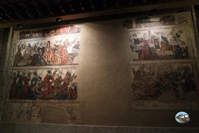 Pinturas murales góticas