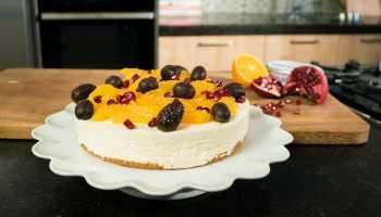 Sinaasappelcheesecake In Een Glaasje Met Pepernoten Recept Rutger Bakt