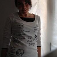 Una camiseta, con mucho ARTE!!