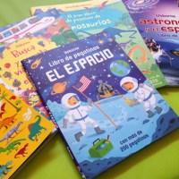 libros de PEGATINAS originales para niños (PLANETAS y el ESPACIO)